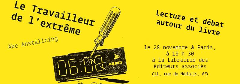 Bandeau pour Le travailleur de l'extrême à Paris !