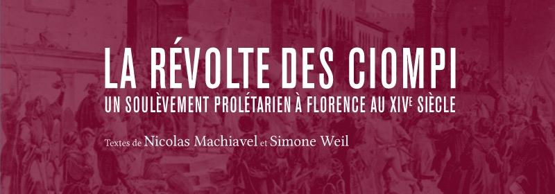 Bandeau pour La Révolte des Ciompi