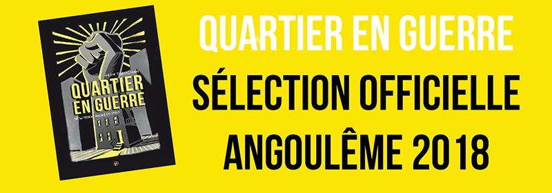 Bandeau pour Quartier en guerre à Angoulême !